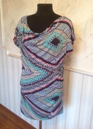Трикотажное платье-туника etam,  размер 46 евро, наш 50-52.