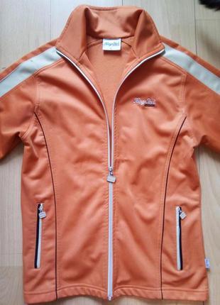 Спортивный костюм оранжевый утепленный женский