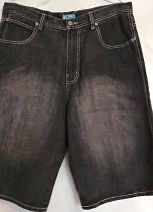 Фирменные джинсовые капри шорты, большого размера, 50-52.