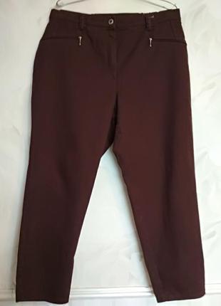 Качественные брюки большого размера, 22 uk,  наш 50-52.