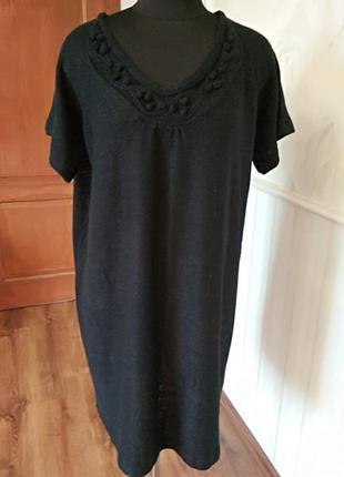 Тепленькая туника-платье большого размера 2xl, наш 54-56-58.