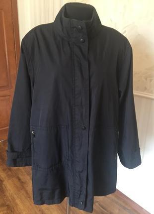 Куртка ветровка на подкладке, размер 18 uk, наш  50-52-54.
