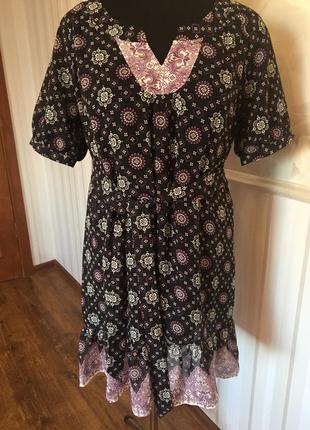 Красивое платье-туника размер 50.
