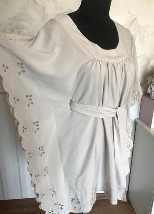 Шикарная блуза-туника размер м, наш 48-50.
