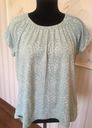 Приятная блузочка футболка из органического котона, размер 50-52.