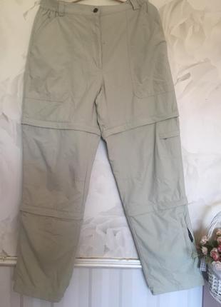 Фирменные брюки трансформеры - брюки, капри, шорты размер 48-50.