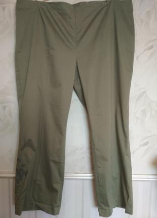 Легкие котоновые брюки очень большого размера 62- 64 (54 европ...