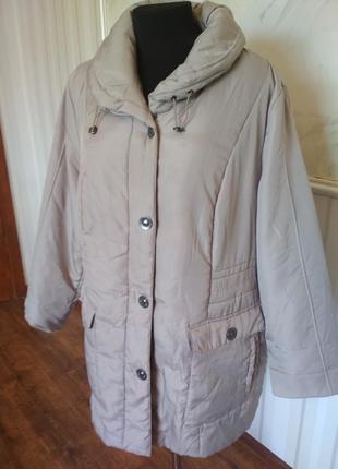Демисезонная куртка большого размера 58-60 (24\26uk).