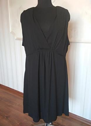 Стильное платье-туника большого размера 58-60 (26 английский).