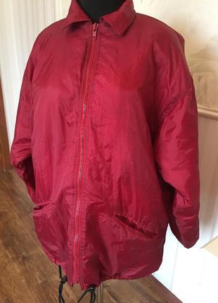 Утеплённая спортивная куртка большого размера, 56-58.