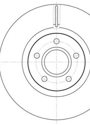 Тормозной диск VOLVO / FORD FOCUS III седан / FORD GRAND C-MAX...
