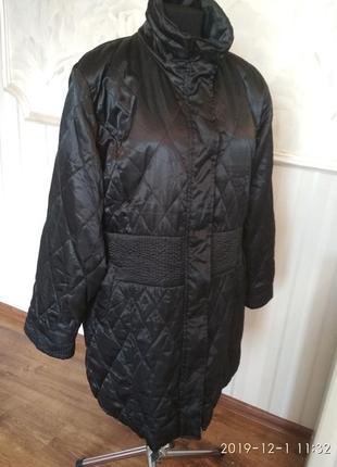 Легкая куртка-пальто большого размера 54-56 (48\50 евро).