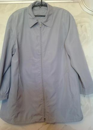 Куртка-ветровка на подкладке, размер 18, наш 54-56.