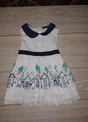 Милое платье george на 1,5-2,0 года