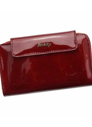 Женский кожаный кошелек rovicky 8808-mir rfid