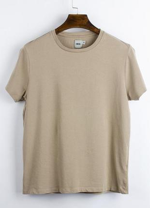 Базовая футболка бежевая