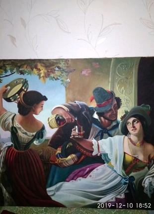 Картина маслом по холсту