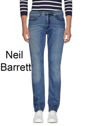 Джинсы neil barrett мужские брендовые, оригинал, р.30 италия