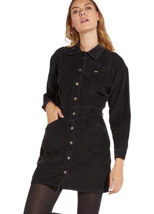 Вельветовое платье-рубашка wrangler .