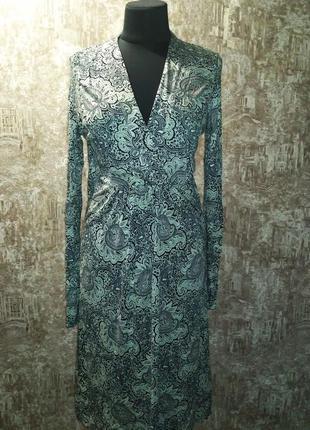 Классное трикотажное платье, размер 46-48