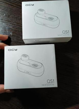 QCY qs1 TWS 5.0 Bluetooth наушники 3D stereo