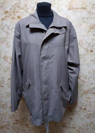 Классная добротная демисезонная мужская куртка-ветровка,большо...