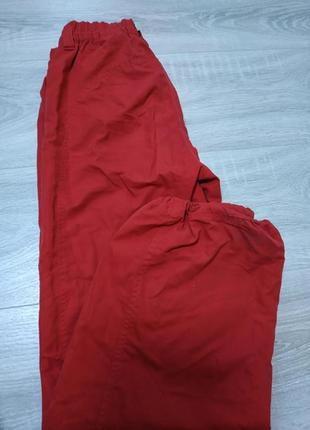 Очень классные яркие брюки на девочку 9-10 лет,