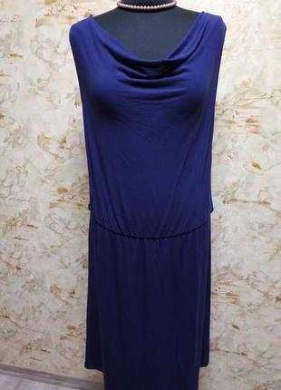 Очень классное трикотажное платье, размер 46-48