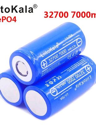 Акумулятор 32700 LiFePO4 3,2 7000mA 24шт
