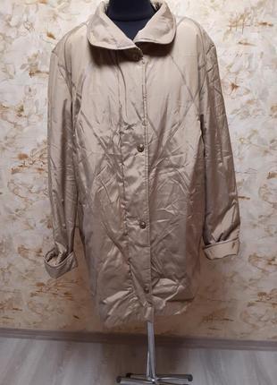 Супер крутая теплая куртка, очень большого размера54-56