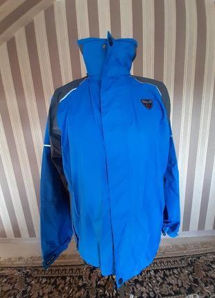 Стильная крутая куртка на мальчика  рост 130-145