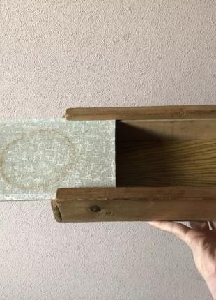 Самодельная коробка, шухлядка для мелких вещей