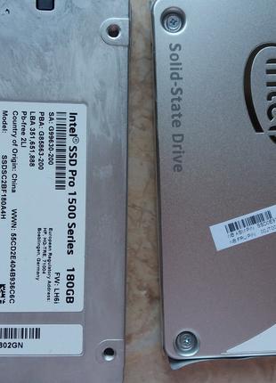 Жесткий диск Intel 180gb
