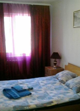 Уютная квартира-студия напротив Глобала .Сутки, понедельно, Почас