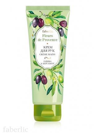 Крем для рук «Олива & бергамот» Fleurs de Provence Faberlic