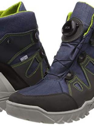 Зимние ботинки ricosta германия.с мембраной, непромокаемые