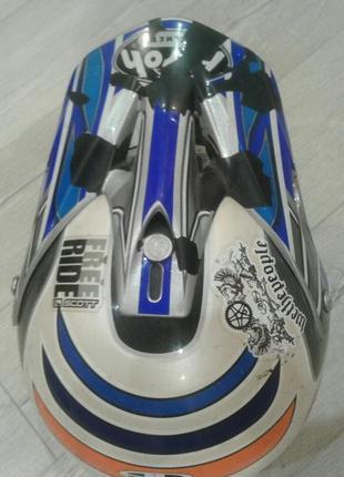 Кроссовый шлем(детский) M2R Snell M2000