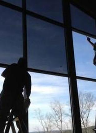 Пленка для тонировки любых стекол, черная 3 метра на 75 см \ 1...