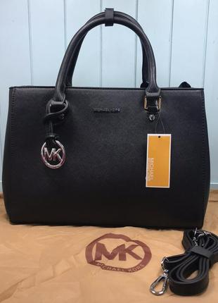 Женская сумка черная жіноча чорна на плечо