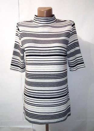 Блуза кофточка новая американка в полоску george uk 12/40/m