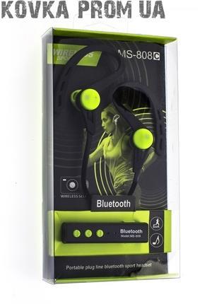 Беспроводные наушники MS-808C, Bluetooth наушники гарнитура, NEW!