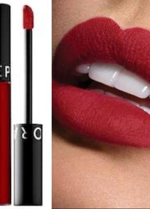 Матовая помада sephora cream lip stain in red velvet