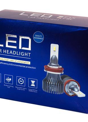 LED лампы H4 52W 12V 8400Lm 5000K С обманками! (Корея диоды La...
