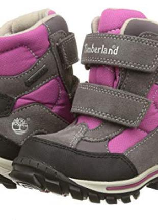 Зимние ботинки timberland системою gore-tex, небольшой брак