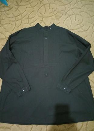 Стильная хлопковая блуза большой размер 64-70 scully