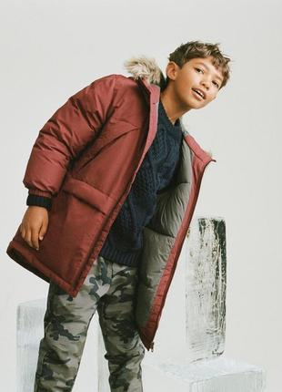 Зимняя куртка zara коллекция 2020года