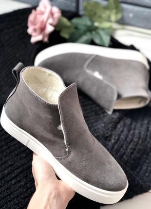 Lux обувь! зимние натуральные тёплые удобные и комфортные хайт...