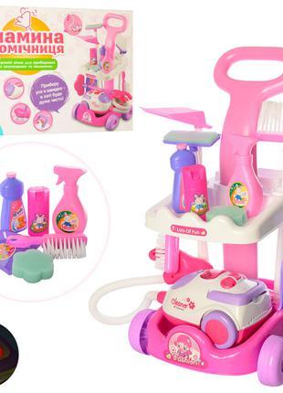 Детский игровой набор для уборки A5951 с тележкой
