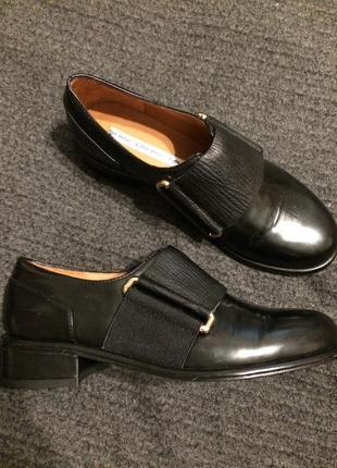 & other stories лакированные туфли кожаные