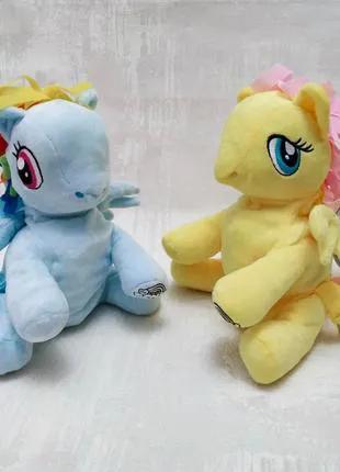 Плюшевый рюкзак-игрушка Пони My little pony (Hasbro)